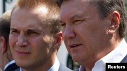 Віктор Янукович із сином Олександром (архівне фото)