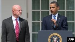 Президент США Барак Обама и директор разведслужбы США Джеймс Клаппер