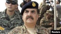 Pakistan's top military commander General Raheel Sharif (file photo)