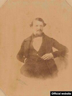 Sigismun Gerothwohl Portret 1845