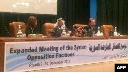 نشست دو روزه مخالفان حکومت سوریه در ریاض