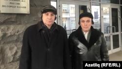 Русия саклану министрлыгы вәкиле белән очрашуда катнашкан Фәрит Зәкиев һәм Кәшиф Гатин