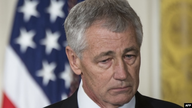 "U.S. Defense Secretary Chuck Hagel said the decision was designed to ""stay ahead of the threat"" posed by North Korea's advances in missile technology."