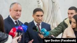 Igor Dodon și Alexandru Stoianoglo