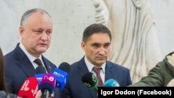 Președintele Igor Dodon și noul procuror general Alexandru Stoianoglo