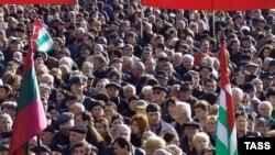 В столице Абхазии было намечено проведение акции протеста против повышения с начала года энерготарифов в два раза