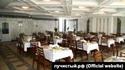 Kezlevdeki «Luçistıy» lageriniñ aşhanesi