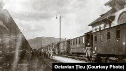 Trenul care a dus tezaurul românesc la Moscova