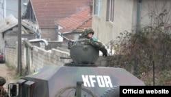 Українські миротворці в Косово (архівне фот з сайту: www.mil.gov.ua)