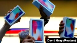 Покупатели iPhone X в Австралии, ноябрь 2017
