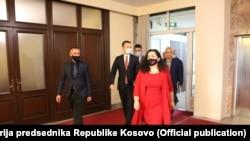 Vršilac dužnosti predsednika Kosova Vjosa Osmani