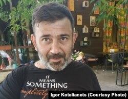 Роман Терновський після звільнення з російської в'язниці