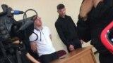 Арсен Сланов и Зелим Албегов в зале суда в день оглашения приговора 4 сентября