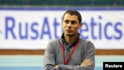 Orsýetiň atletika boýunça toparynyň ýolbaşçysy Ýuriý Borzakowskiý, Moskwa, 24-nji fewral, 2016