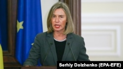 European Union foreign policy chief Federica Mogherini (file photo)