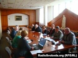 Зустріч із українськими журналістами у МЗС Угорщини, 31 березня 2014 року