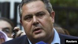 Министр иностранных дел Греции Панос Камменос.