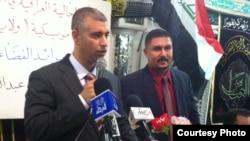 رائد الفضاء العراقي فريد لفتة عبد الزهرة في مركز كربلاء الإسلامي بديربورن