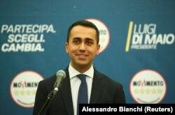 Лідер «Руху п'яти зірок» Луїджі Ді Майо, Рим, Італія, 5 березня 2018 року