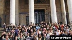Moldoveni pro europeni la Bruxelles