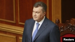 Украина президенті Виктор Янукович. Киев, 15 мамыр 2013 жыл.