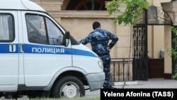 Полиция на месте происшествия (архивное фото)