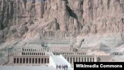 Долина царей недалеко от Луксора в Египте.