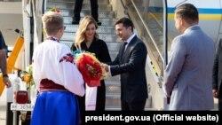 Президент Украины Владимир Зеленский во время визита в Канаду, 2 июля 2019 года