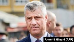 Presidenti i Kosovës, Hashim Thaçi. Foto nga arkivi