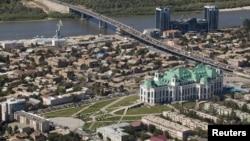 Город Астрахань.