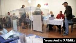 Glasanje u Beogradu, 24. april 2016.