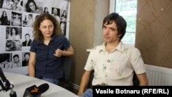 Nicoleta Esinencu şi Petru Negură