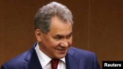 Рускиот министер за одбрана Сергеј Шојгу.