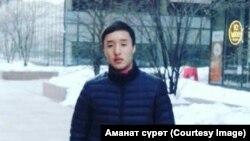 Погибший Аман Бакачиев.