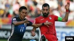 ژاپن با پیروزی بر ایران به عنوان نخستین تیم به مرحله نیمه نهایی رسید تا با برنده دیدار عراق و امارات بازی کند.