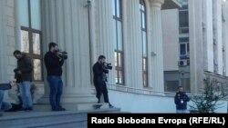 Влезот на новиот Кривичен суд во Скопје