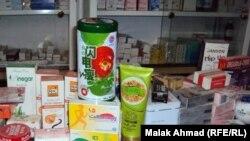 بعض أدوية النحافة في صيدليات عراقية