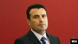 Претседателот на владата на Македонија Зоран Заев