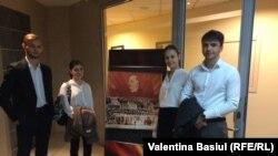 Elevii din Hâncești, la Radio Europa Liberă