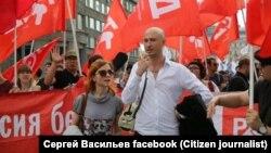 Сергей Васильев и актриса Мария Чиркова 12.06.12