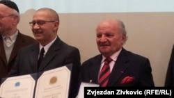 Dervo Sejdić i Jakob Finci