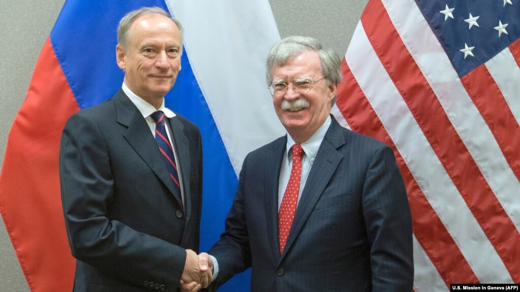 Election Wont End This Overnight But >> U S Won T Tolerate Election Meddling Bolton Tells Patrushev