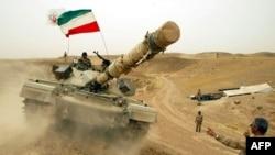 """Britaniya istehsallı """"Chieftain"""" tankı İraq müharibəsində"""