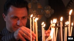 Kryeministri i Maqedonisë, Nikolla Grueevski - foto arkivi