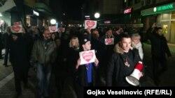 Protestat në Banja Llukë