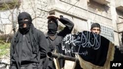 مقاتلون من جبهة النصرة في سورية