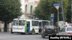 Казан урамындагы троллейбус