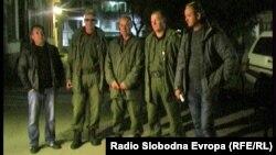 Членови на Шумска полиција во Прилеп.