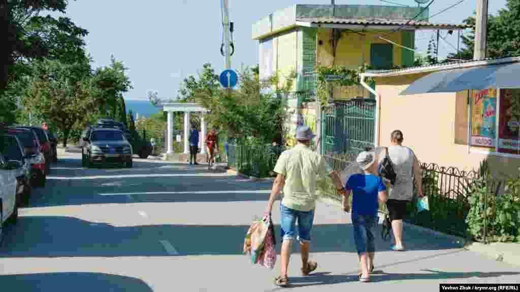 К центральному входу в парк имени Ахматовой можно попасть по улице Надежды Островской. На ночь ворота закрывают