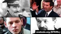 Юры Захаранка, Віктар Ганчар, Анатоль Красоўскі, Зьміцер Завадзкі